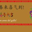 Buon anno del Gallo! 鸡年吉祥!